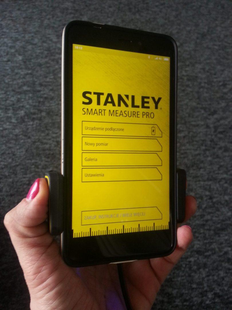 Moja przygoda z urządzeniem Smart Measure Pro firmy Stanley.
