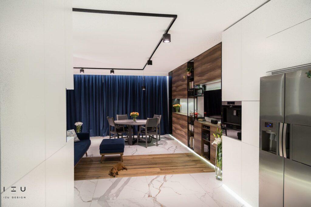 Projekt salonu Izu Design